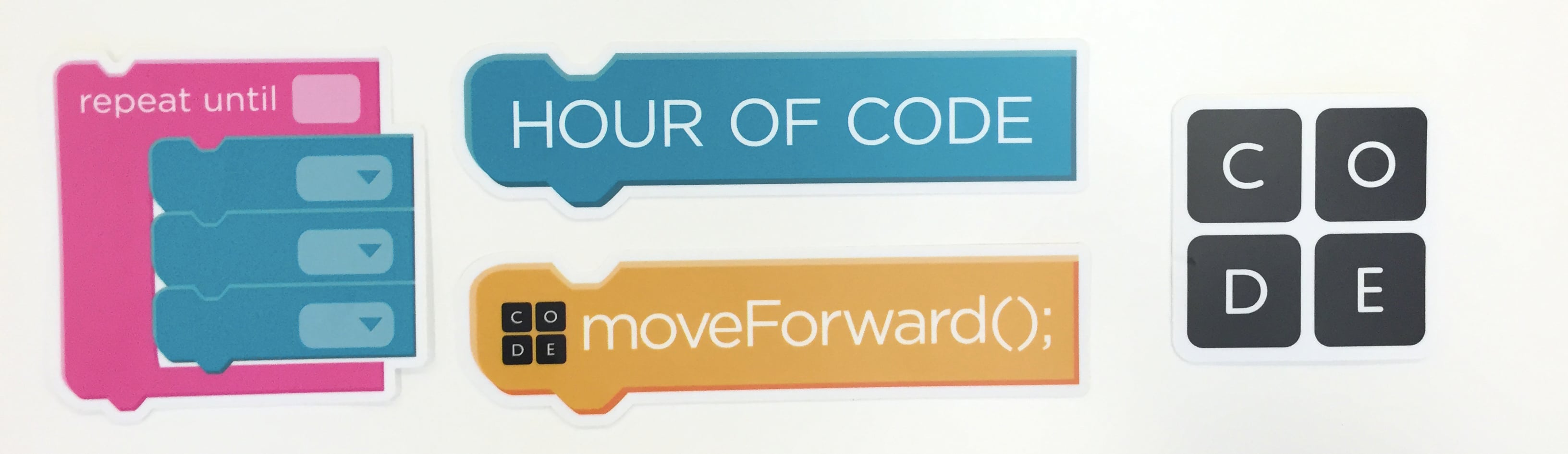Hour of Code blocks