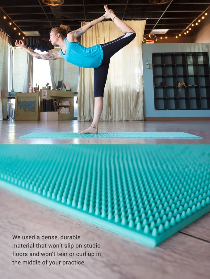 Grippz Mats World S First Acupressure Yoga Mat Indiegogo