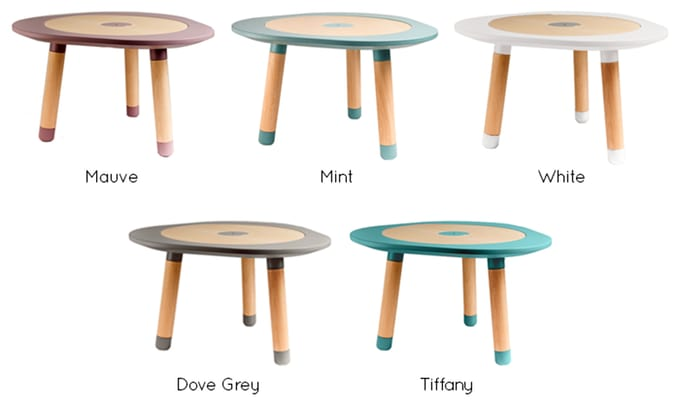Mutable the ultimate children 39 s play table indiegogo - Tisch oval weiay ...