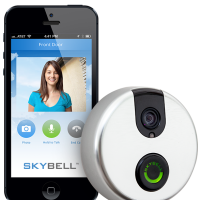 SkyBell: Answer door from smartphone