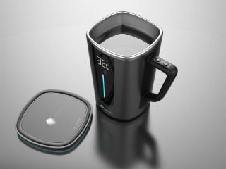Qi Smart Wirelesss MugIndiegogo Coomug Coffee rCxQdtsh