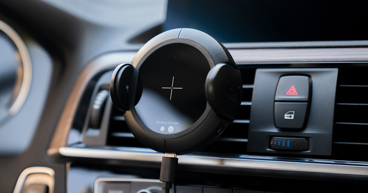 Hudly Fast Wireless Car Charger Mount