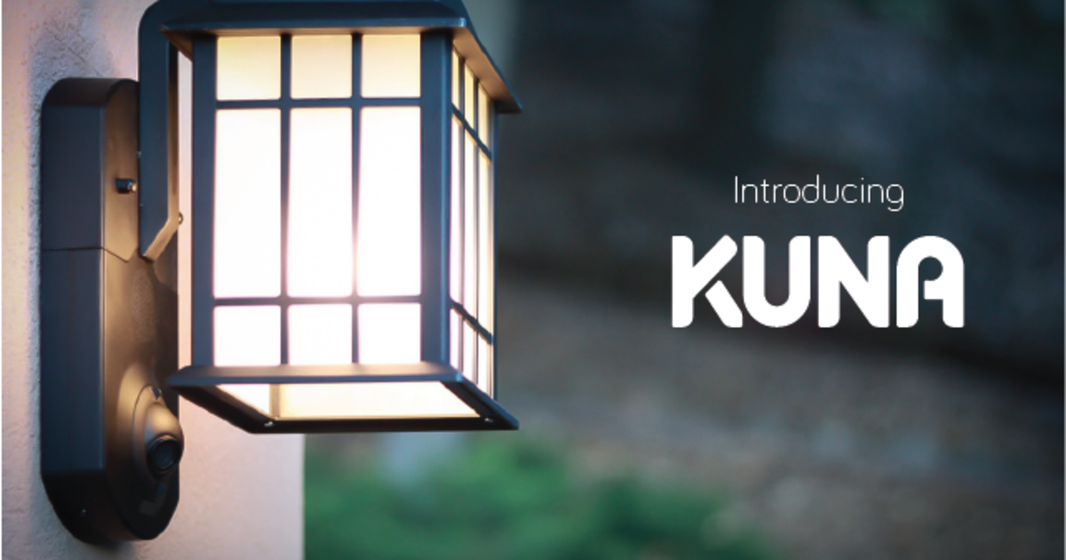 outdoor motion light with camera battery powered kuna the first home breakin prevention solution smart camera in an outdoor light kuna outdoor motion with and intercom connected