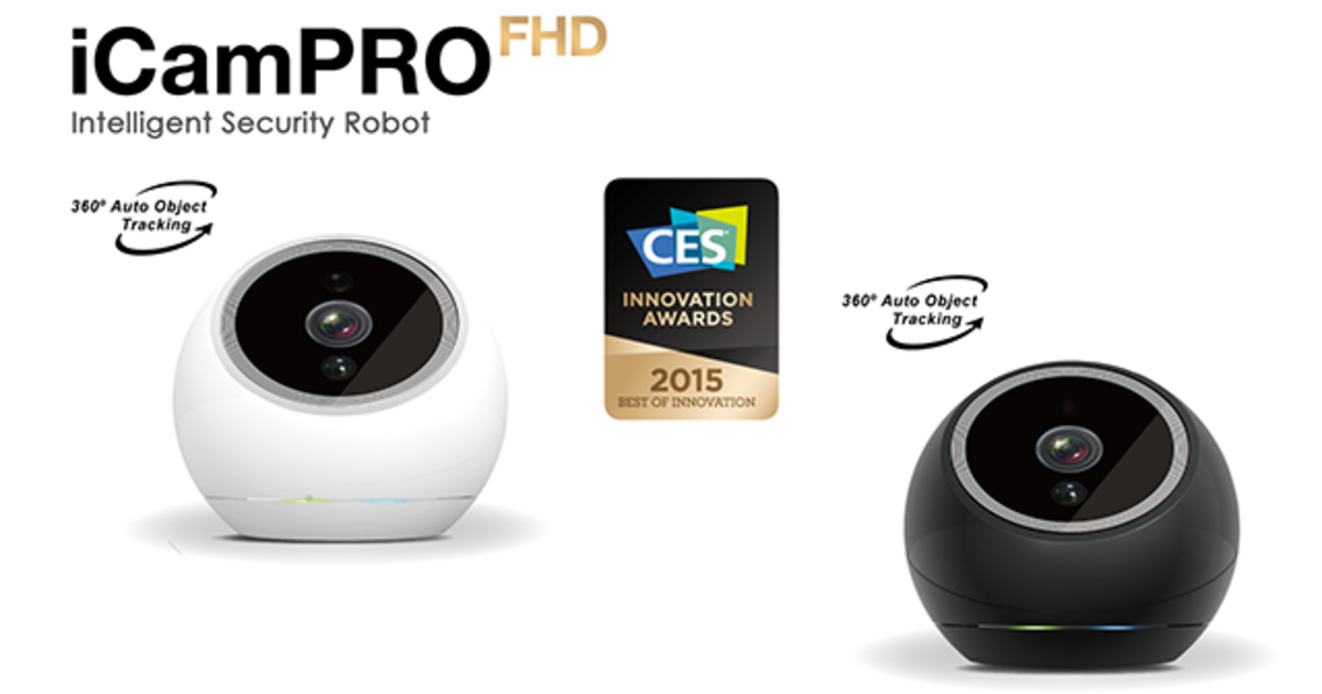 First Home Robot That Sees And Tracks Intruders!