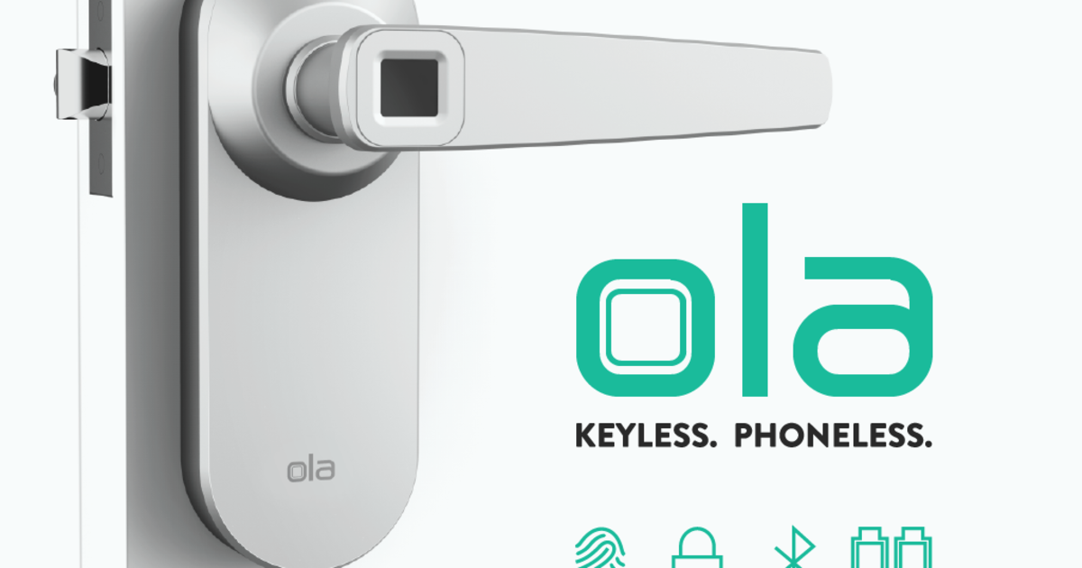 Ola Fingerprint Smart Lock Indiegogo