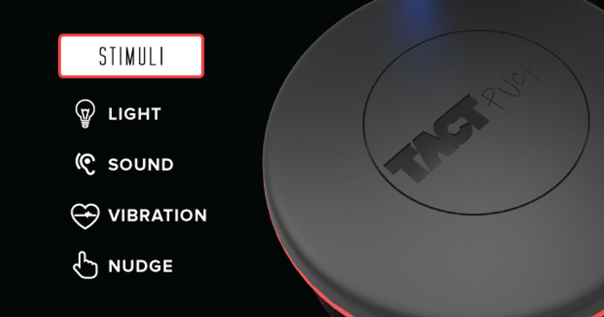 Messaging >> Technology: TACTpuck Wearables | Indiegogo