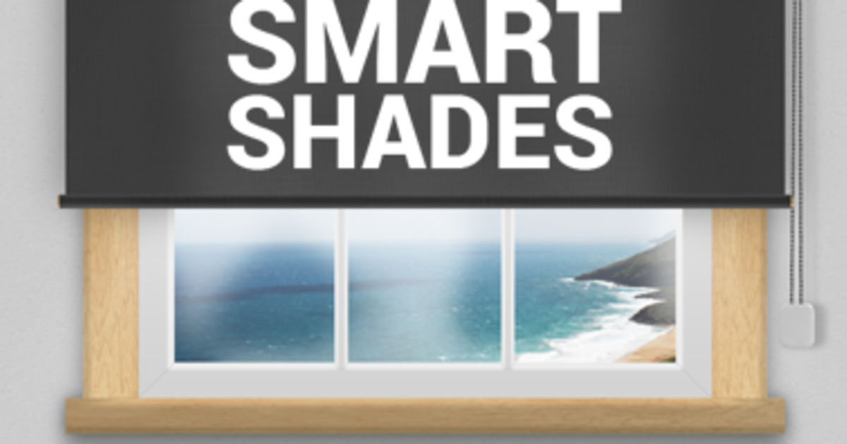 Smart shades automate your window shades indiegogo for Smart window shades