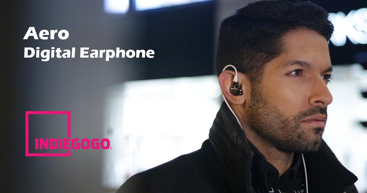 Aero Digital Earphone, Upgrade to HiFi Music NOW!