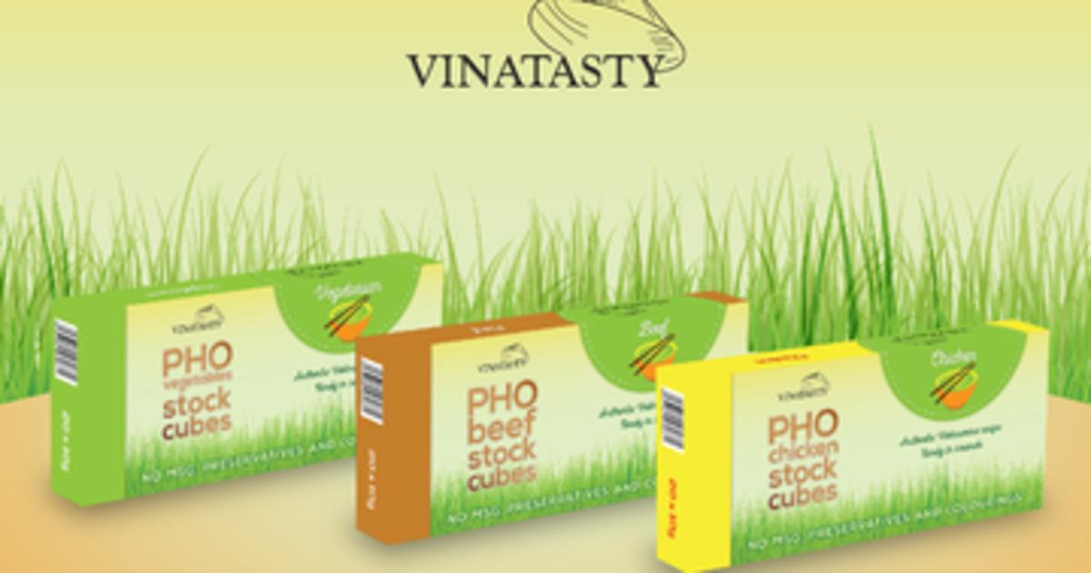 Authentic Vietnamese Pho stock cubes