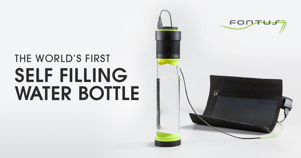 Fontus The Self Filling Water Bottles Indiegogo