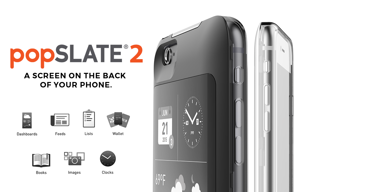 popSLATE 2 - Smart Second Screen for iPhone
