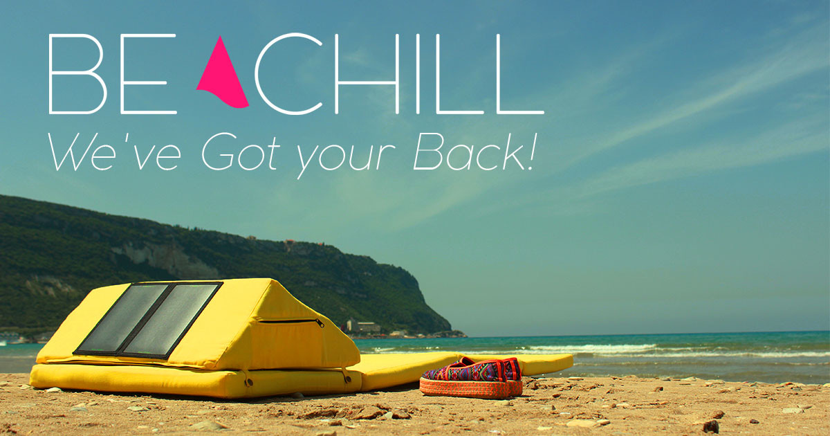 'Beachill' The Smart Eco-friendly Outdoor Mattress