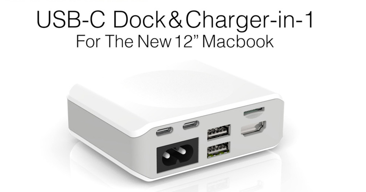 Marble A Portable 2 In 1 Usb C Dock Charger Indiegogo