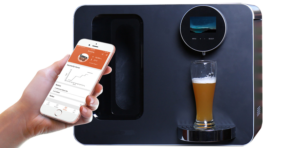 iGulu - Smart, Automated Craft Beer Home Brewery