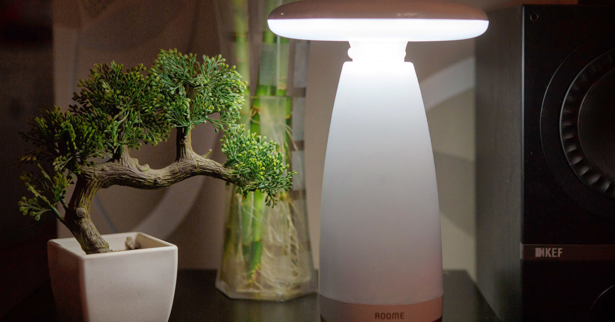 Roome The World S First Gesture Control Lamp