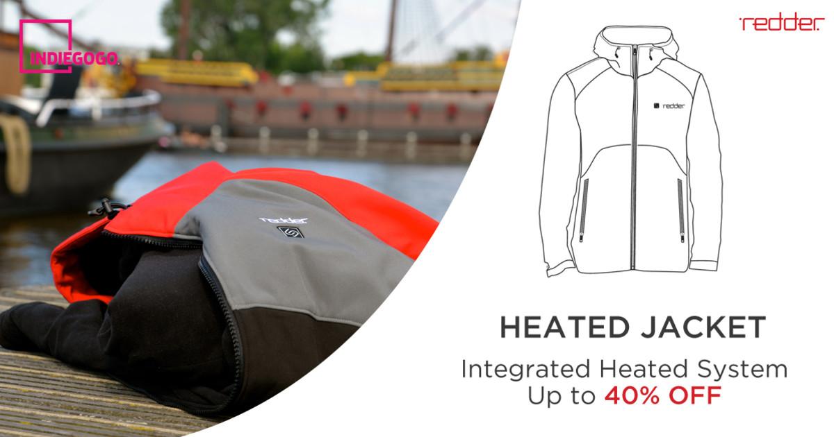 Heated Jacket World S Best Jacket By Redder Indiegogo