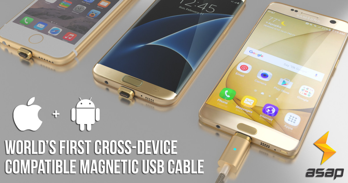 X-Connect: World's 1st Cross-device Magnetic Cable | Indiegogo