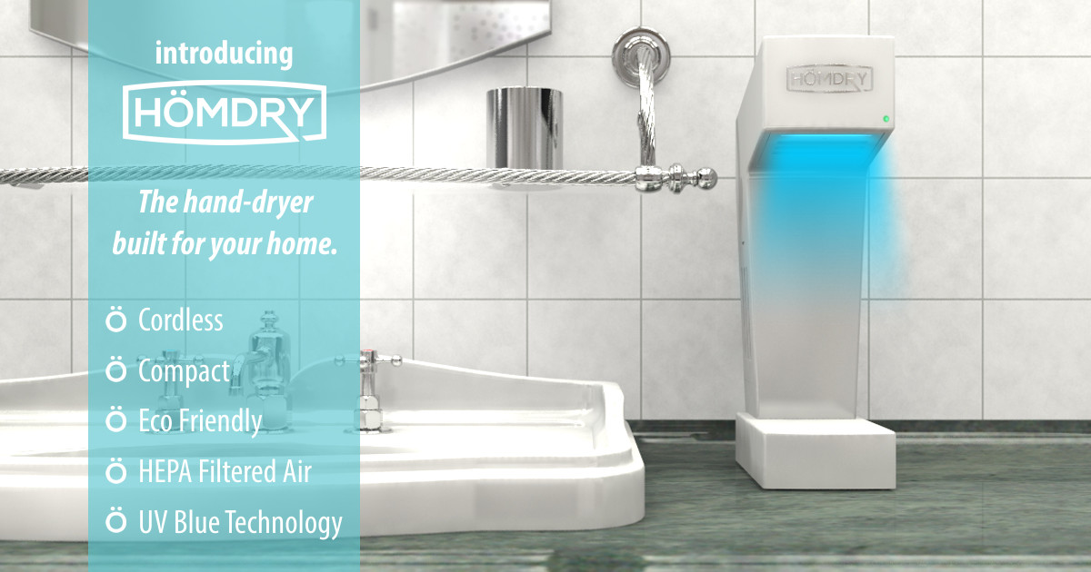 Homdry The Perfect Home Hand Dryer Indiegogo