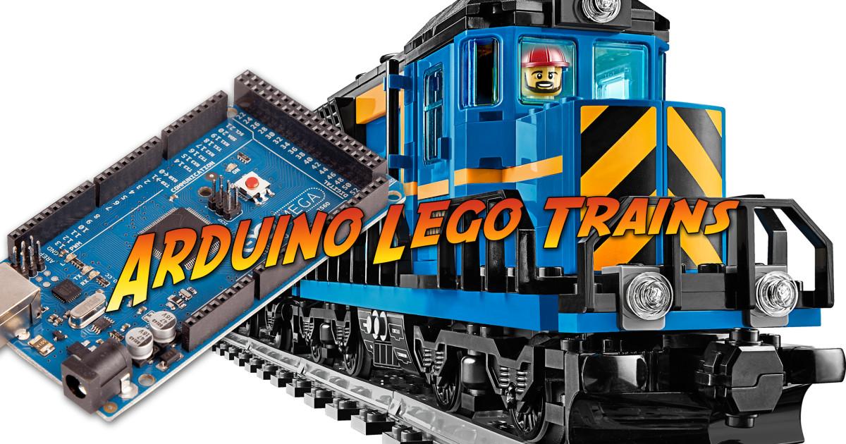 Arduino tutorials for lego trains indiegogo