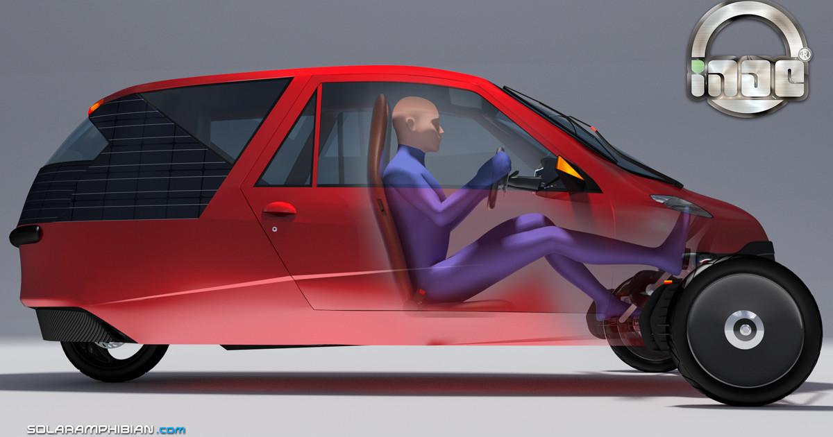 Car To Go >> Inde - Solar Amphibious Car, Velomobile & Jet-ski | Indiegogo