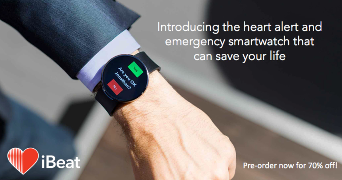 iBeat: The Smartwatch That Can Save Your Life