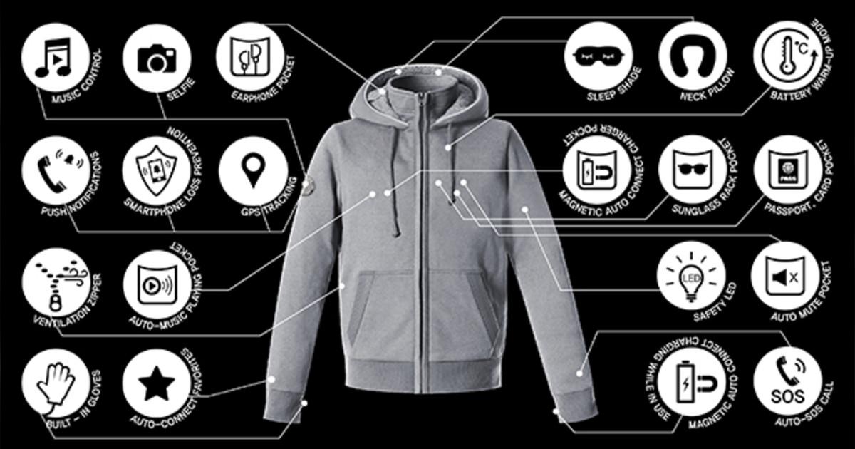 Hallam New York Smart Jacket With 31 Functions Indiegogo