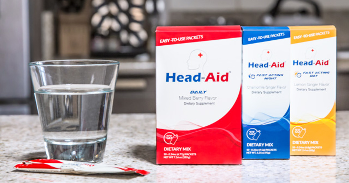 Stop And Go Auto >> HeadAid - Don't Let Headaches & Migraines Stop You | Indiegogo