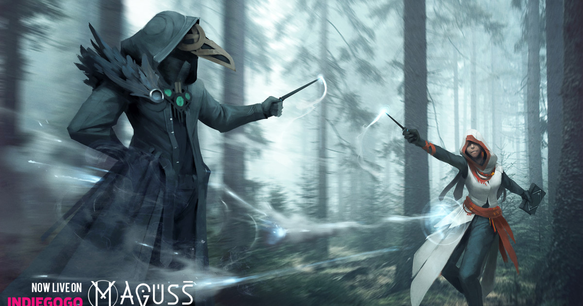 Maguss: The Mobile Multiplayer Spell Casting Game