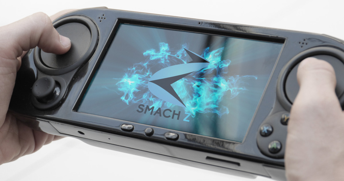 smach z the handheld gaming pc indiegogo. Black Bedroom Furniture Sets. Home Design Ideas