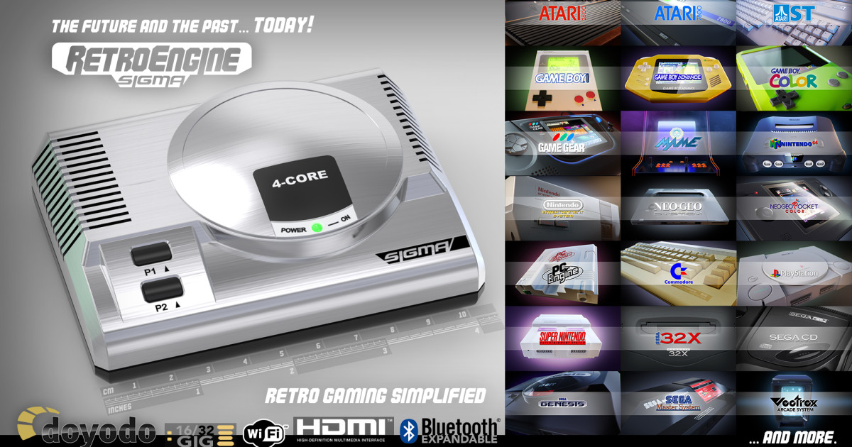 Retroengine Sigma Mini Video Game Console Indiegogo