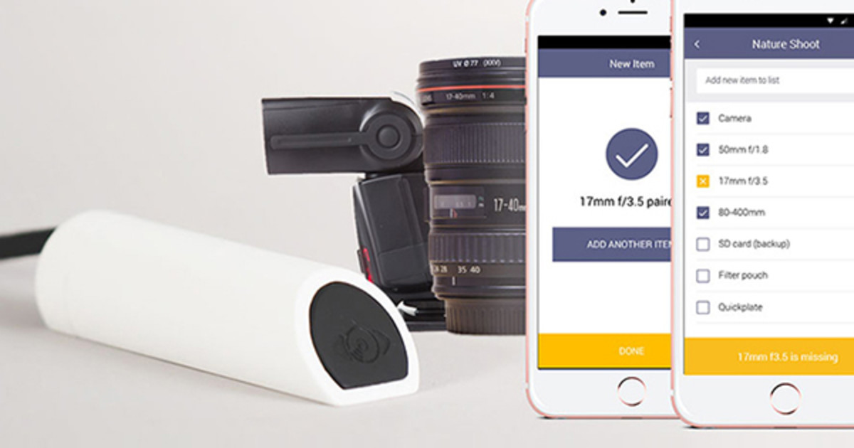 GearEye - Gear Management System for Photographers
