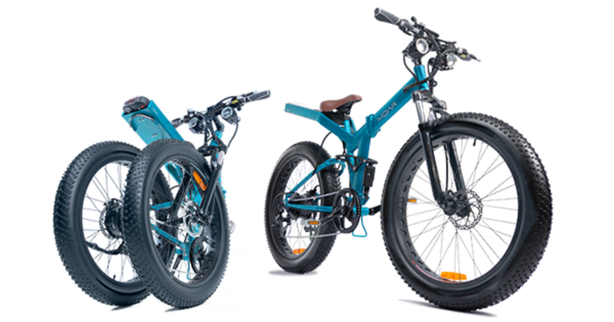 MOAR: Fat Tire, Folding Frame, Electric Bicycle