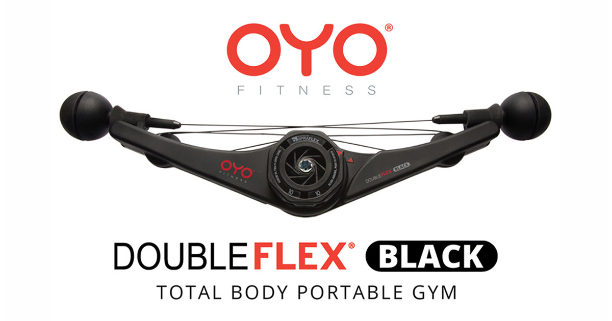 OYO Personal Gym -  DoubleFlex Black and Pro