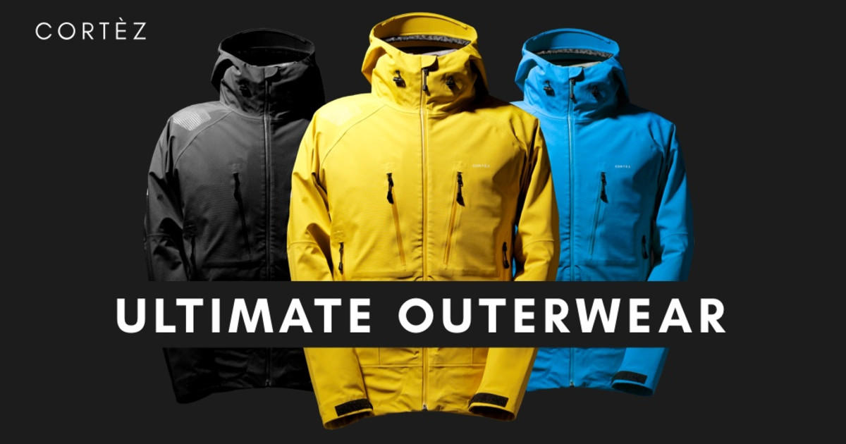 Cortez: Ultimate outerwear at revolutionary price
