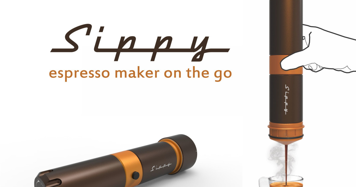 Coffee Maker On The Go : Sippy - Espresso maker on the go Indiegogo