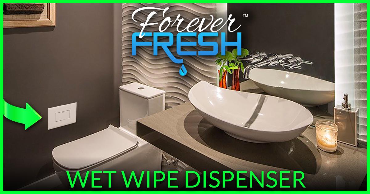 Forever Fresh In Wall Wet Wipe Dispenser Indiegogo