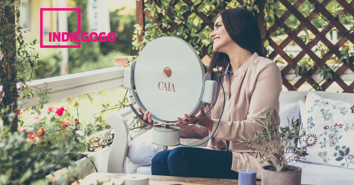 Caia: A Robot That Fills Your Home With Sunshine