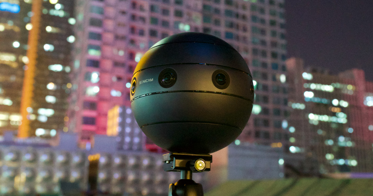 SONICAM: Professional VR 360 Camera With 3D Sound