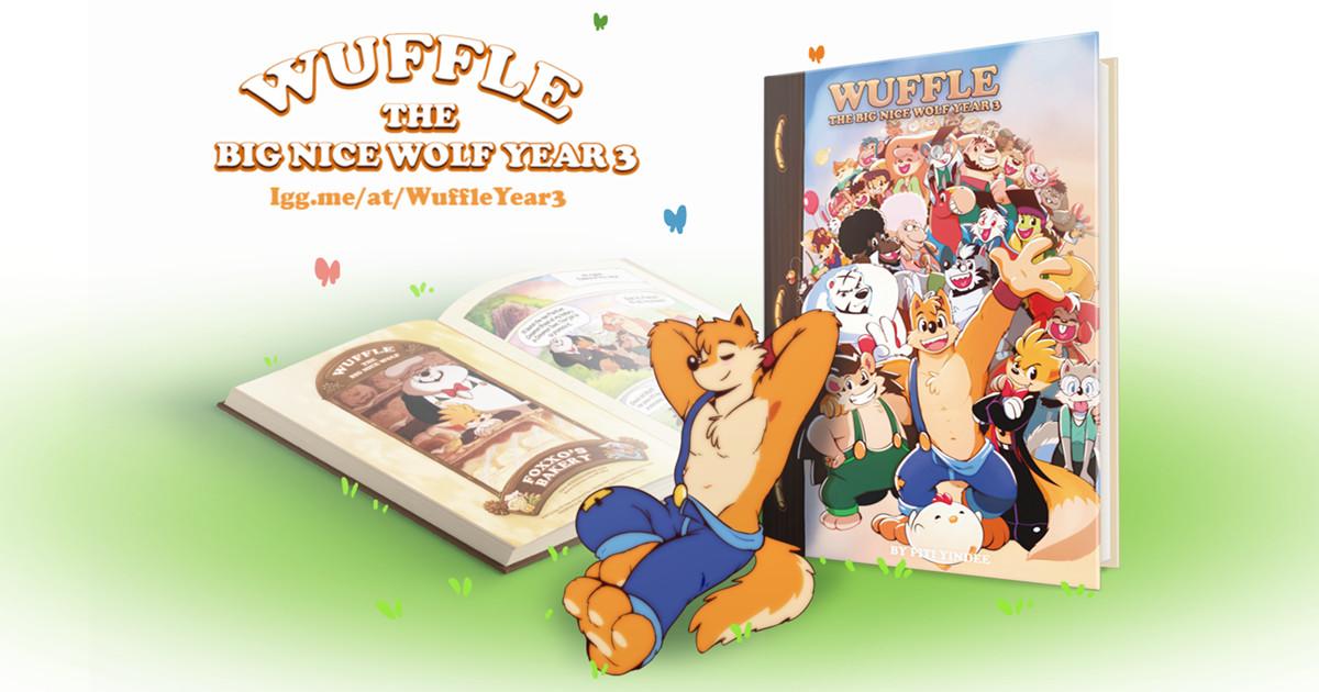 Wuffle, The Big Nice Wolf : Year 3