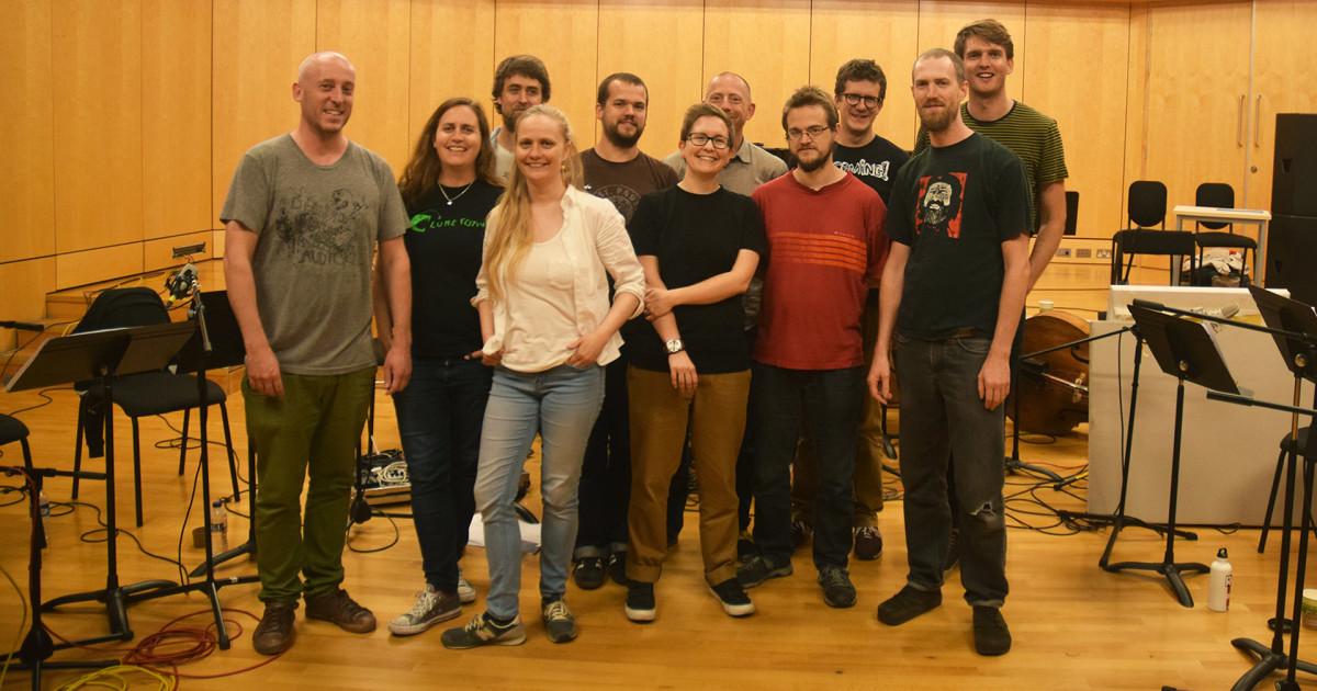 Indiegogo | Favourite Animals Large Ensemble Album