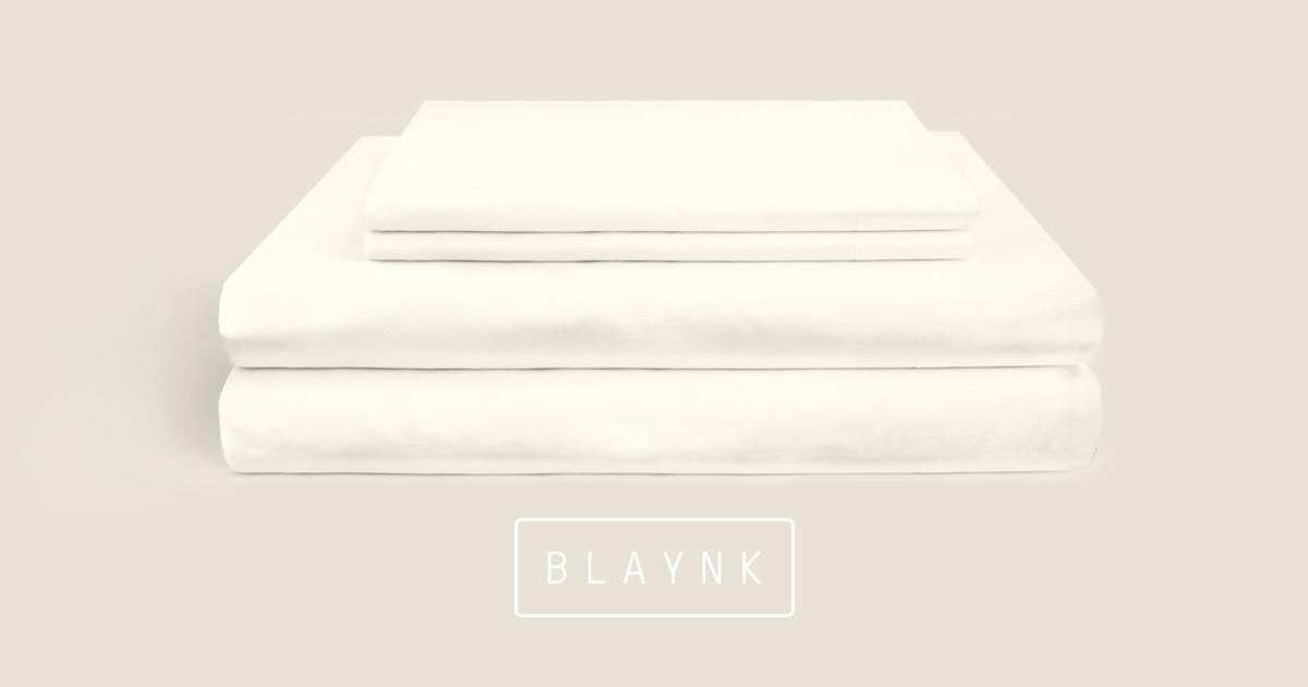 Blaynk: Organic Bedding for Half the Price