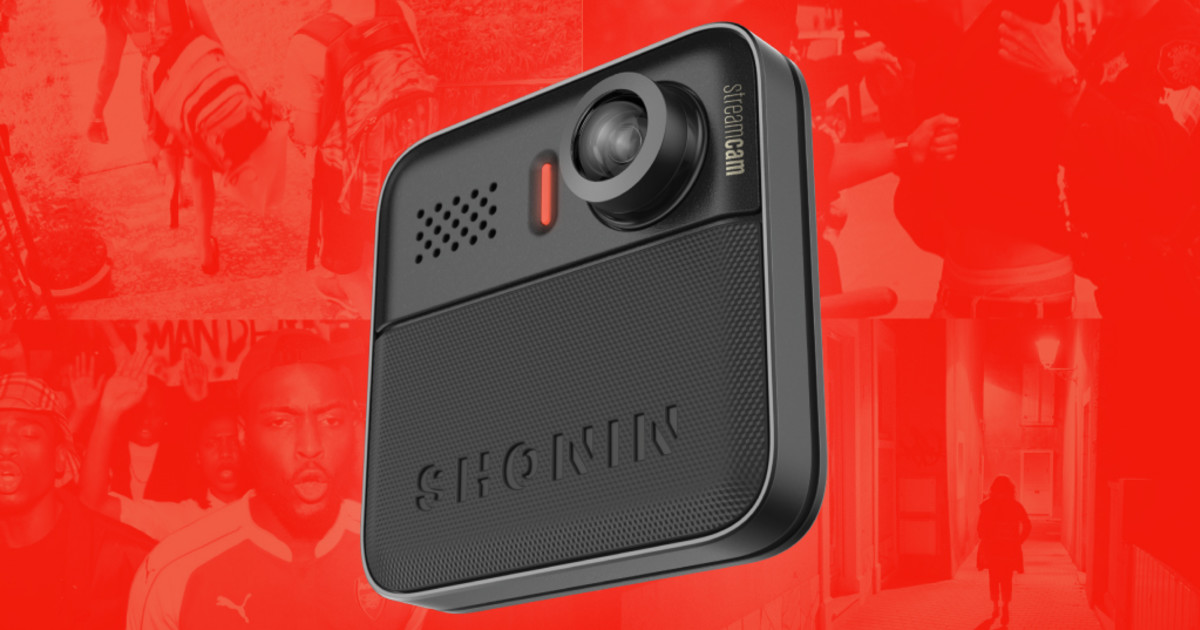 Cloud-Connected Wearable Camera - Shonin Streamcam