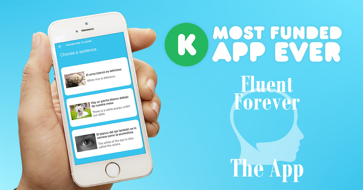Fluent Forever App: THINK in a New Language