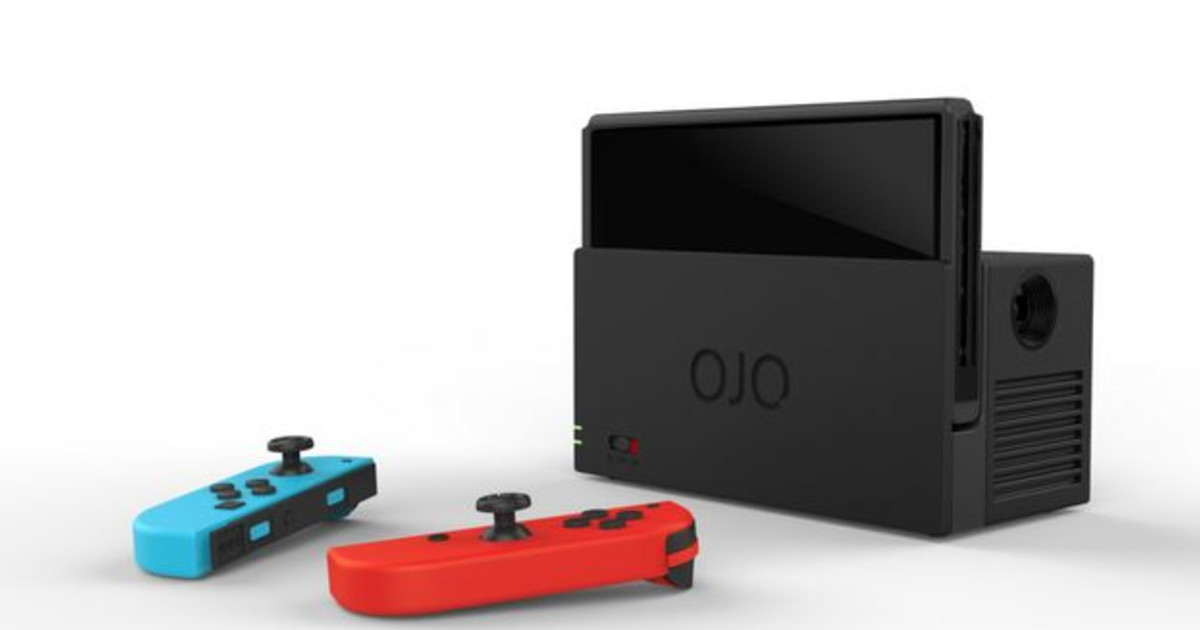 Projects >> OJO - World's First Nintendo Switch Projector   Indiegogo
