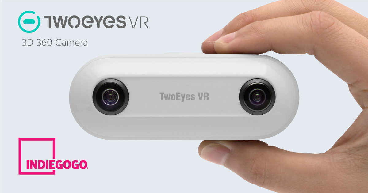 TwoEyes VR - First 3D 360 Camera