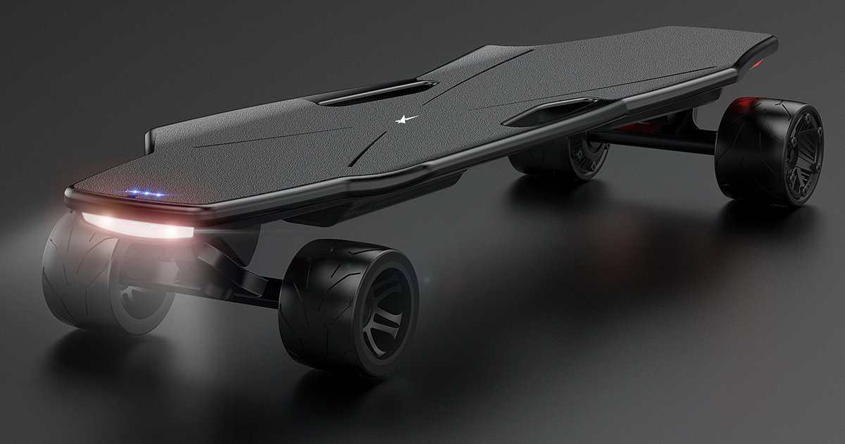 StarkBoard - Handsfree Smart Electric Skateboard | Indiegogo