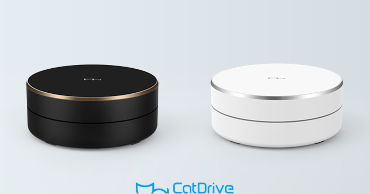 CatDrive: Cloud-like Wireless Smart Hard Drive | Indiegogo