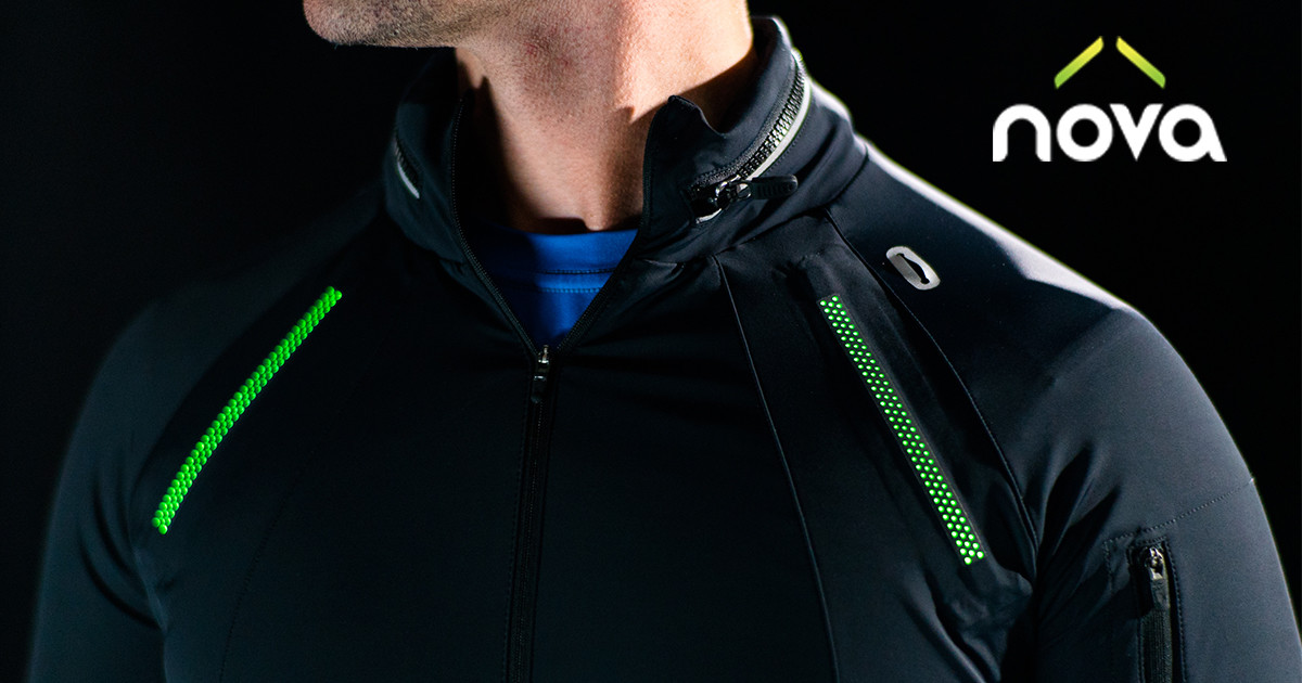 Nova: Ultralight LED Athletic Jacket