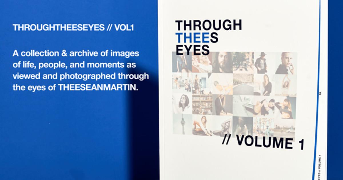 #THROUGHTHEESEYESVOL1 Photo Magazine.