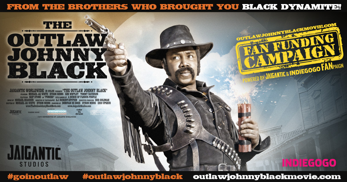 THE OUTLAW JOHNNY BLACK MOVIE